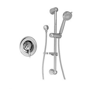 Complete pressure balanced shower kit