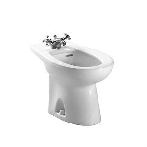 TOTO® Piedmont® Single Hole Deck Mounted Faucet Bidet, Cotton White - BT500AR#01