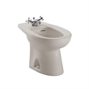 TOTO® Piedmont® Single Hole Deck Mounted Faucet Bidet, Bone - BT500AR#03