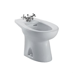 TOTO® Piedmont® Single Hole Deck Mounted Faucet Bidet, Colonial White - BT500AR#11