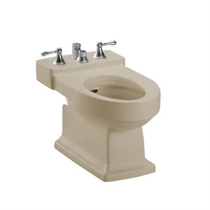 TOTO® Lloyd® Deck Mount Vertical Spray Flushing Rim Bidet, Cotton White - BT930B#03