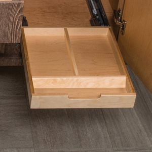 Add-on interior upper pull-out drawer
