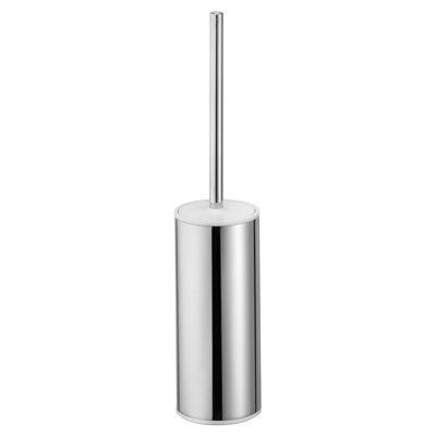 Toilet brush set   standing model   chrome-plated / anthracite