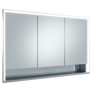 """48"""" Mirror cabinet   aluminum"""