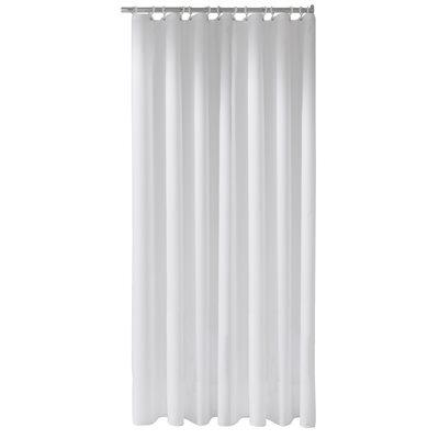 Shower curtain Plan uni   1800 x 3000 mm   white / 16 eyelets