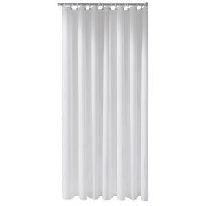 Shower curtain Plan uni | 1800 x 3000 mm | white / 16 eyelets