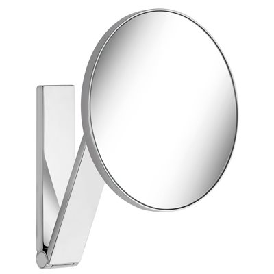 Cosmetic mirror iLook_move | wall model / round | polished chrome