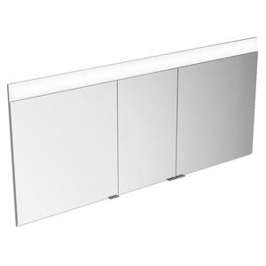 """55"""" Mirror cabinet   aluminum"""