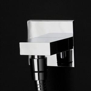 Kubista Shower Head Brushed Nickel