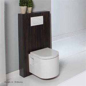 Tre Toilet Gray Zebra