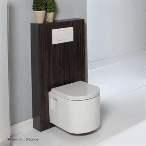 Tre Toilet African Mahogany