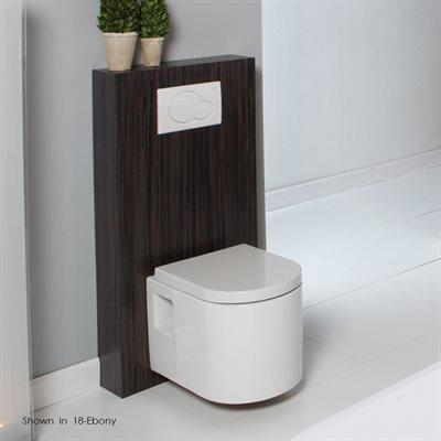 Tre Toilet Silver Oak