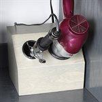Add-on holder box - 2 holders baltic birch