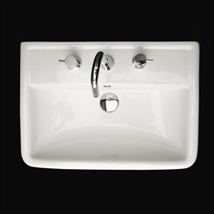 Alia Bathroom Sink White