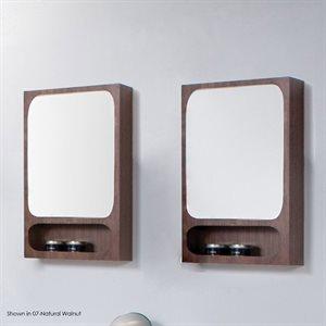 Aquatre Medicine Cabinet Silver Oak