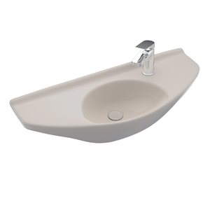 LAVATORY WALL MOUNT CT CT-SINGLE HOLE-SED BEIGE