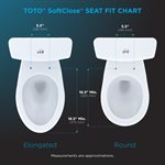 OVAL SOFT CLOSE SEAT BONE
