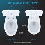 GUINEVERE SOFTCLOSE SEAT COTTON