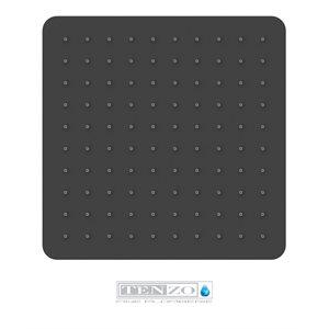 Ceiling shower head 25x25cm [10po]noir matte