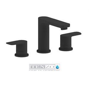 Delano 8in lavatory faucet matte black