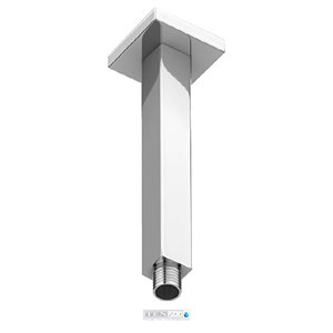 Shwr arm ceiling square 20cm [8in] chrome