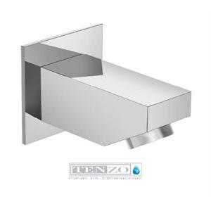 Tub spout / Toe tester brass chrome