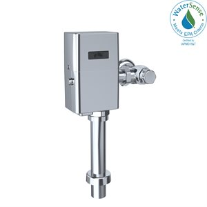 TOTO® ECOPOWER® Touchless 1.0 GPF Toilet Flushometer Valve and 12 Inch Vacuum Breaker Set, Polished Chrome - TET1UA32#CP