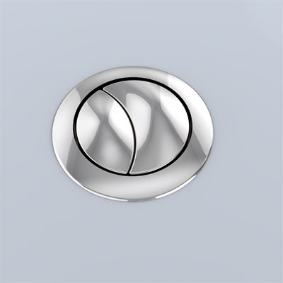 AQUIA PUSH BUTTON MS654 - 53MM SPARE PART - POLISHED NICKEL