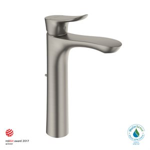 FAUCET,SINGLE LAV,GO(L) 1.2GPM BRUSHED NICKEL