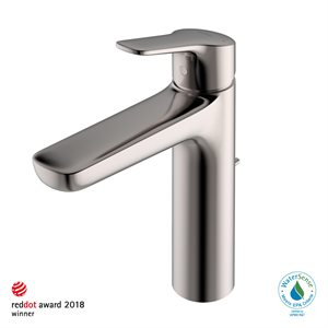 FAUCET,SINGLE LAV,GS (M) 1.2GPM POLISHED NICKEL W / POP